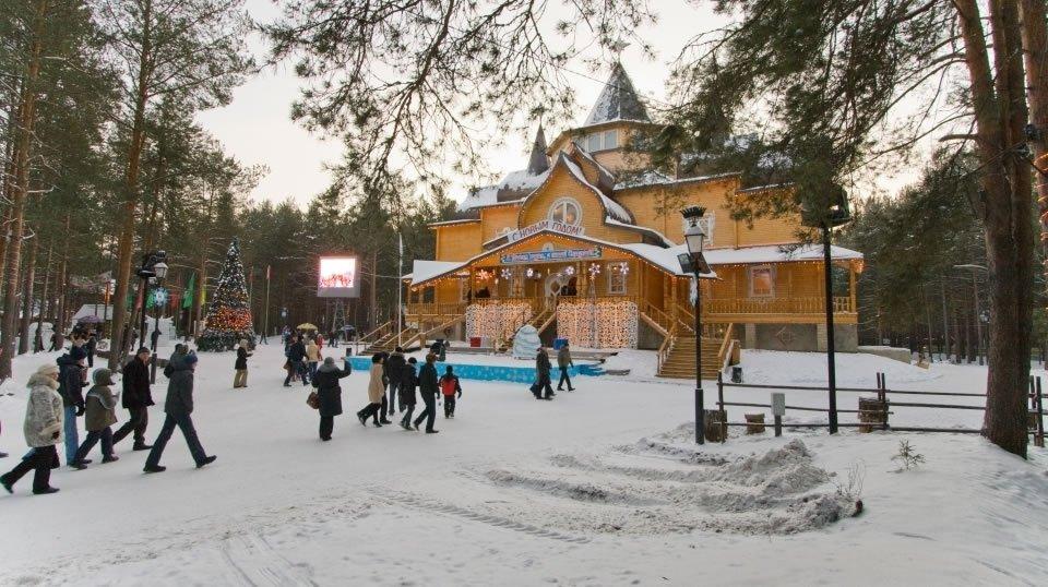 Великий Устюг в России - родина Деда Мороза