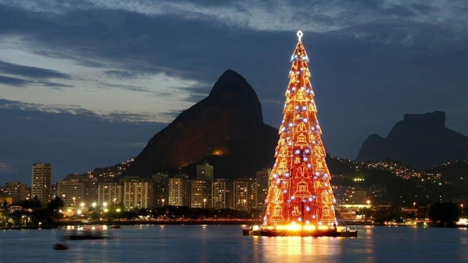 Новый год в Рио-де-Жанейро Бразилия