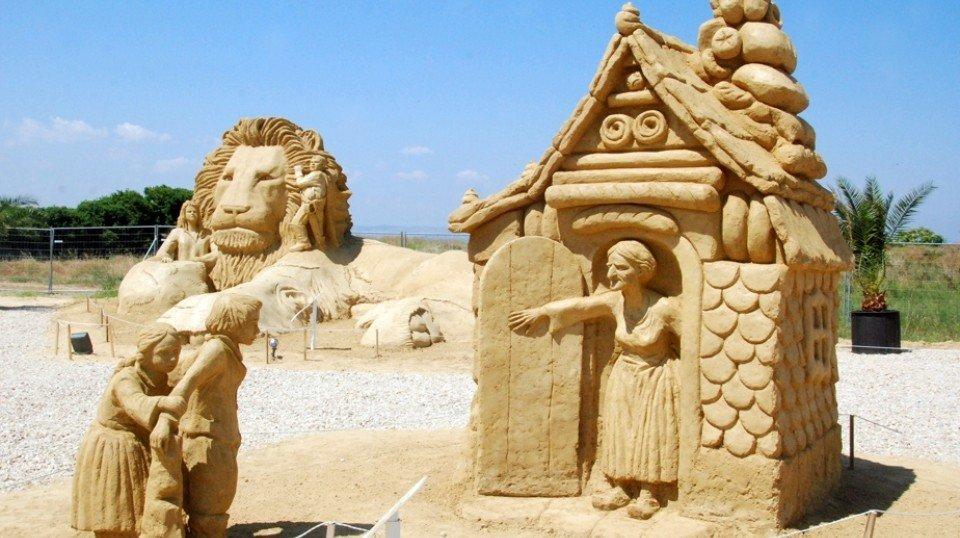 Песочные скульптуры в Бургасе Болгария Песочные скульптуры в Бургасе Болгария