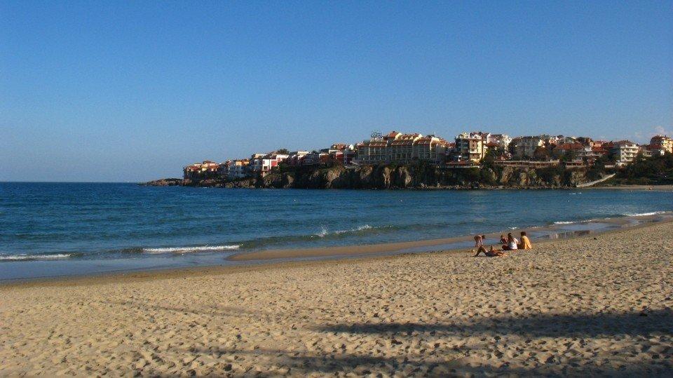 Пляж Несебра Болгария