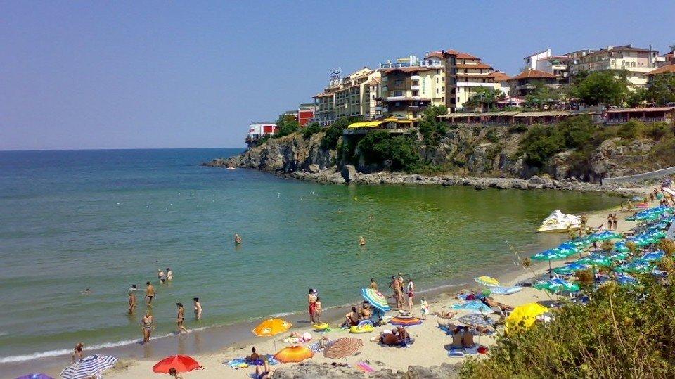 Пляж Поморие Болгария