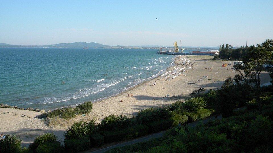Пляж Бургаса Болгария
