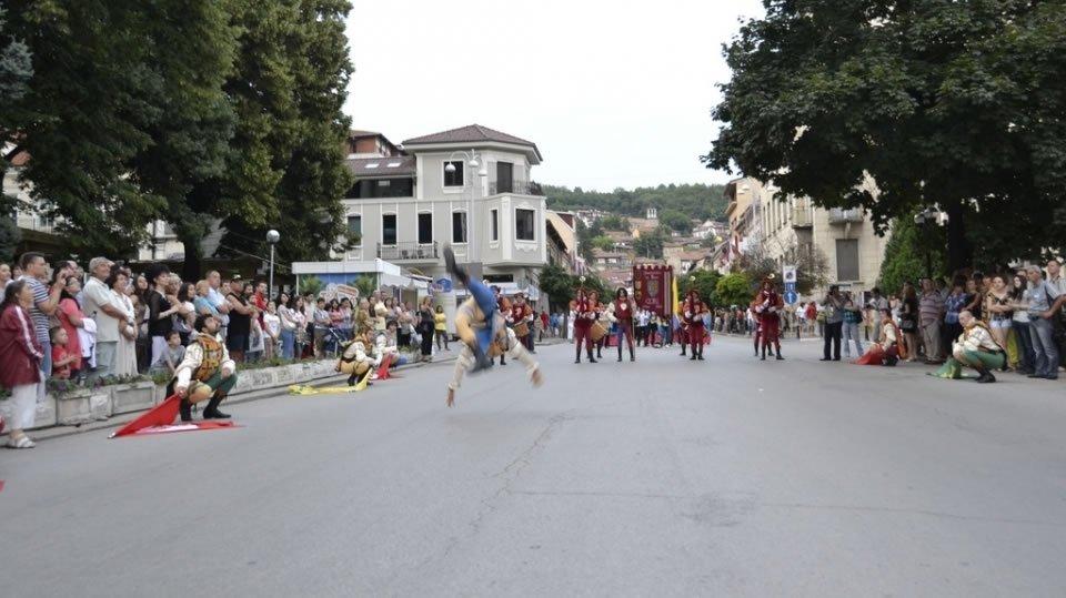 Международный фольклорный фестиваль «Еврофолк» в Велико-Тырново.