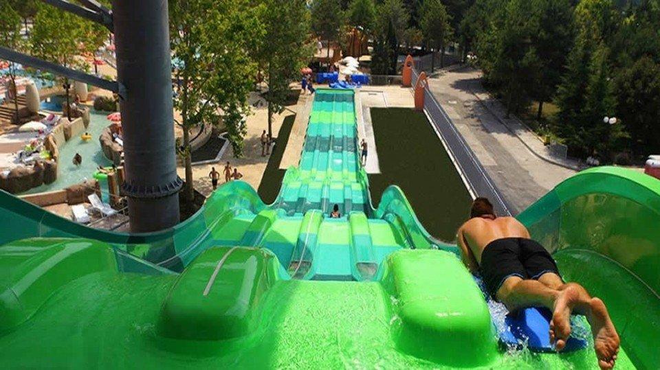Сегодня на болгарском курорте «Албена» открыли аквапарк «Аквамания»