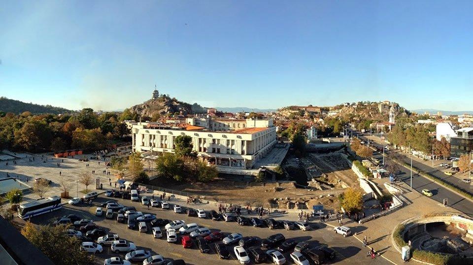 Центральная площадь в Пловдиве