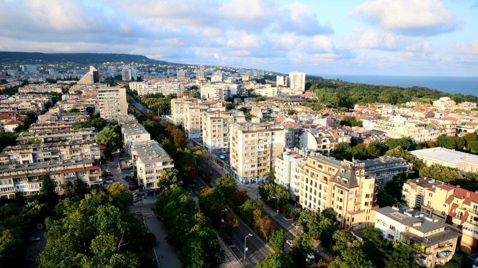 Центр города в Варне