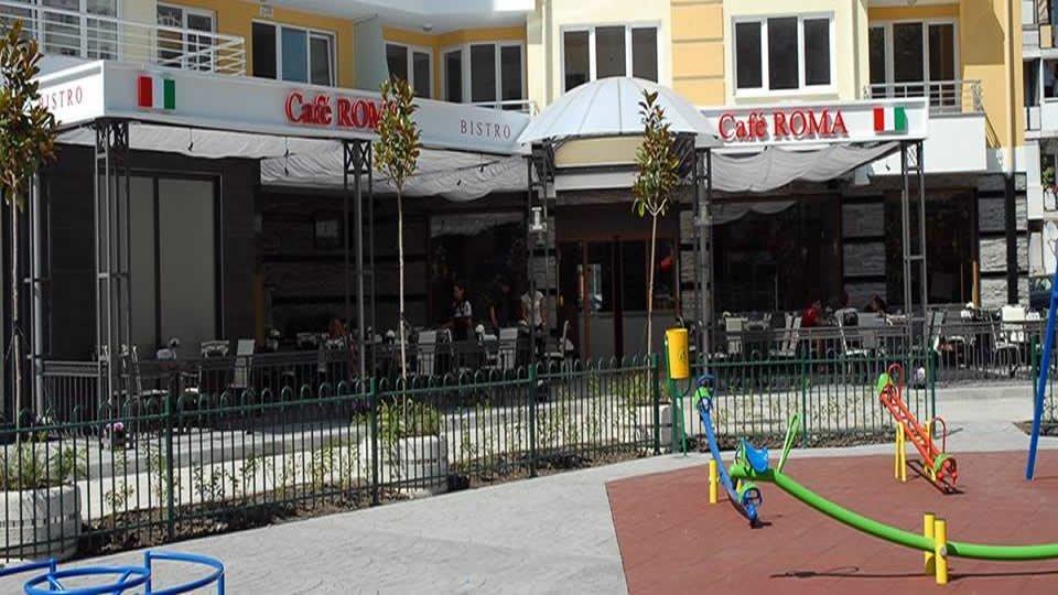 Кафе «Bistro Cafe Roma», Бургас, Болгария