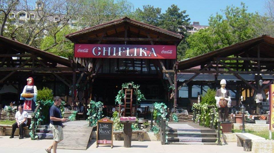 Ресторан «Chiflika», Золотые пески, Болгария