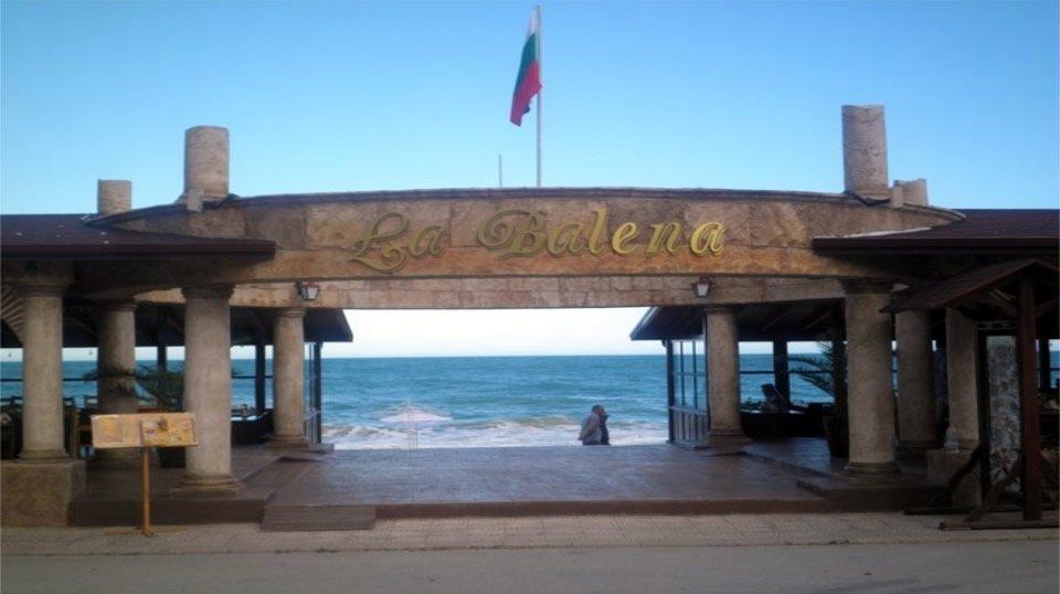 Ресторан «La Balena», Золотые пески, Болгария