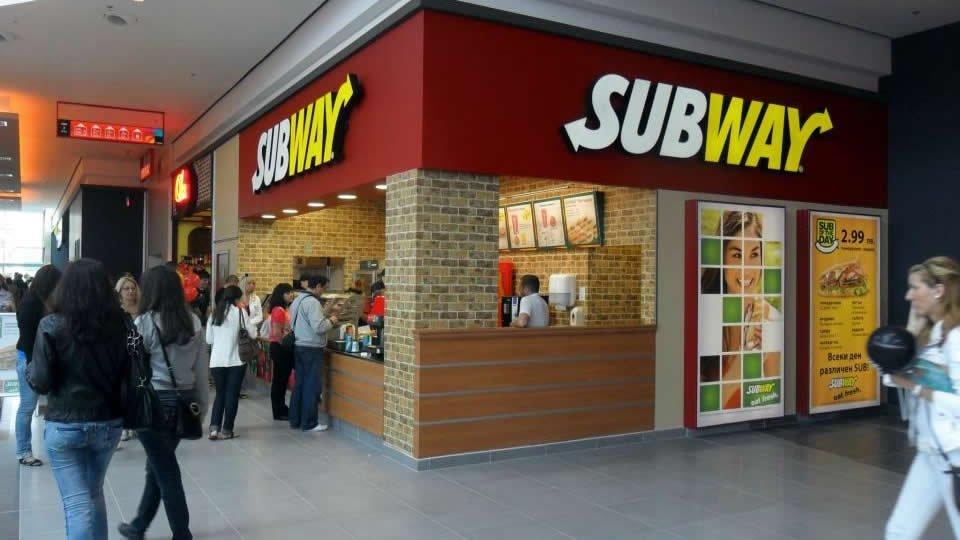 Ресторан «Subway», Бургас, Болгария