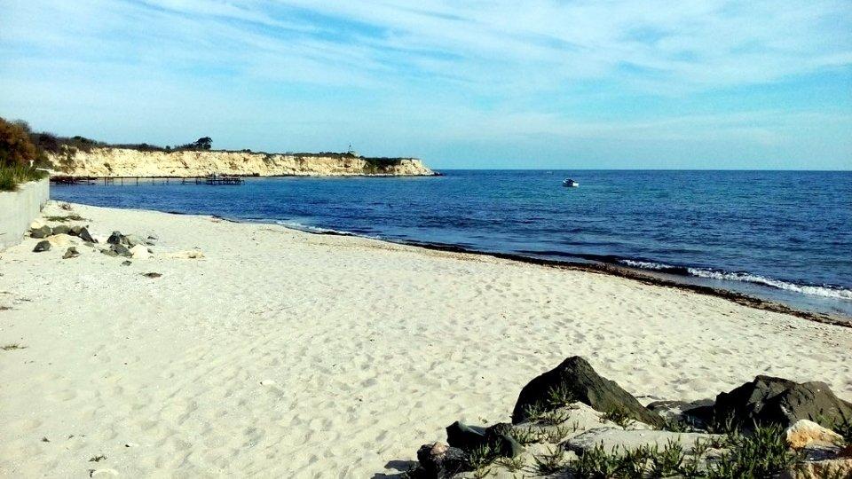Пляж «Акротирия» в Несебре, Болгария