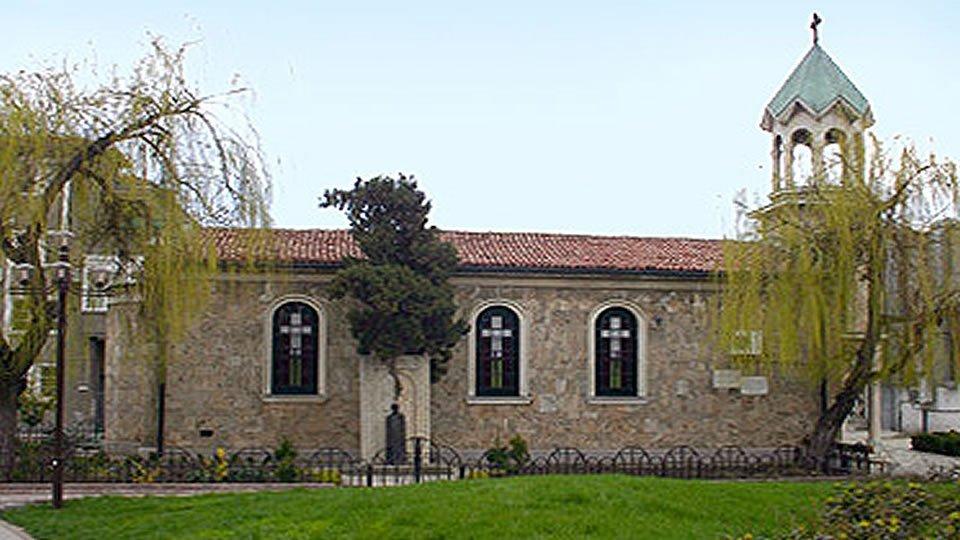 Армянская церковь «Святого Креста», Бургас, Болгария