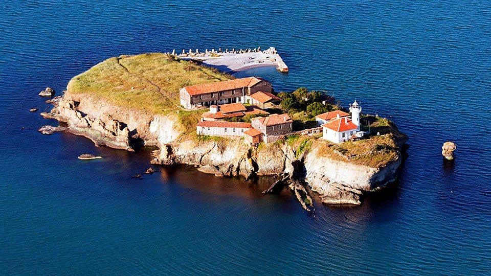 Остров «Святая Анастасия», Бургас, Болгария