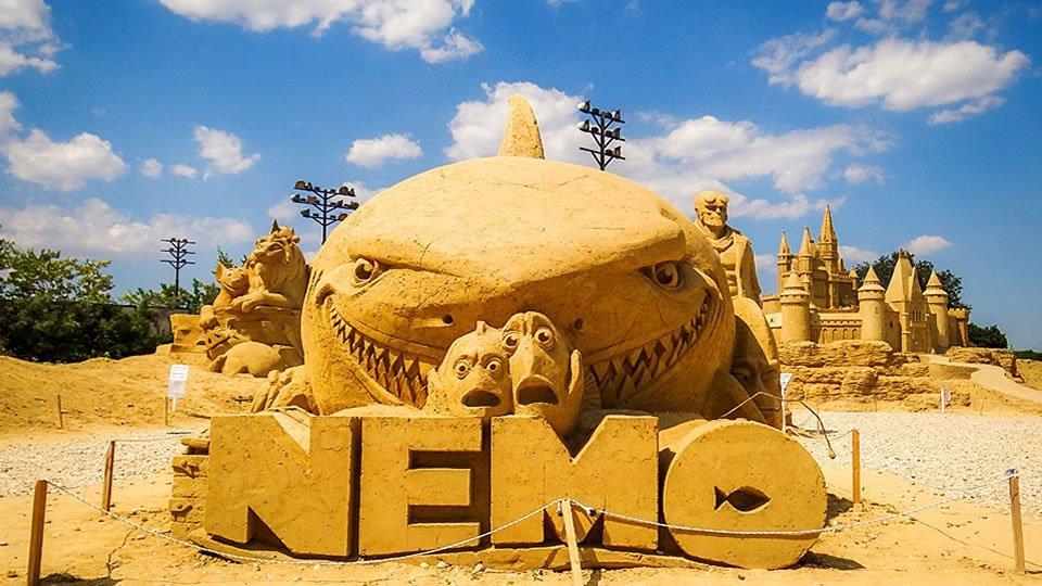 Город песчаных фигур, Бургас, Болгария
